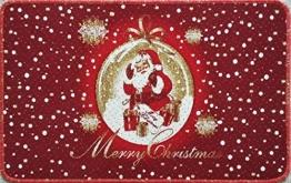 Weihnachtsmatte_Fussmatte