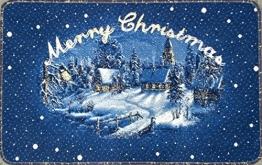 Fussmatte_Weihnachtsmatte_Winterdorf