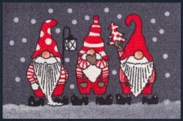 Weihnachtszwerge-Fussmatte-Weihnachten